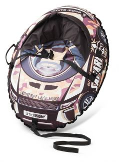 Small Rider Тюбинг Snow Cars 3 с сиденьем и ремнями Сафари камуфляж