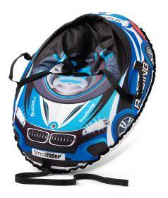 Small Rider Тюбинг Snow Cars 3 с сиденьем и ремнями BM синий