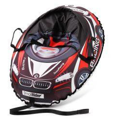 Small Rider Тюбинг и ремнями Snow Cars 3 санки-тюбинг с сиденьем ВМ черно-красный
