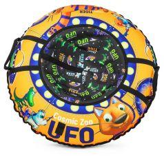 Small Rider Тюбинг-ватрушка Cosmic Zoo UFO оранжевый тигренок