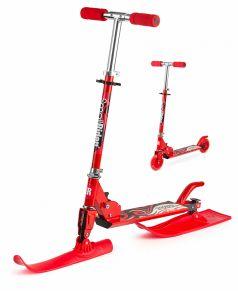 Small Rider Самокат Combo Runner 120 с лыжами и колесами красный