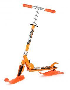 Small Rider Самокат Combo Runner 145 с лыжами и колесами оранжевый