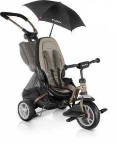 Puky Велосипед 3-х колесный CAT S6 Ceety с зонтиком бронзовый