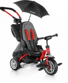 Puky Велосипед 3-х колесный CAT S6 Ceety с зонтиком красный