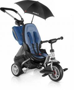 Puky Велосипед 3-х колесный CAT S6 Ceety с зонтиком серебристый