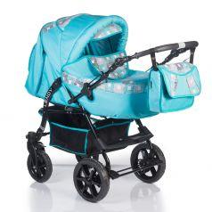 Babyhit Коляска-трансформер Lendy (голубой с серой вставкой)