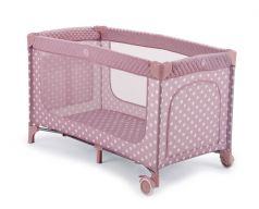 Happy Baby Манеж Martin Rose (розовый)