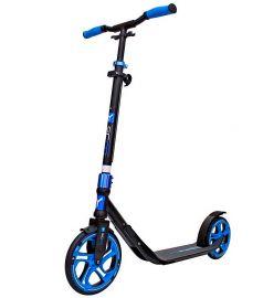 Y-Scoo Самокат 2-х колесный 215 ONE&ONE 2 дизайна в 1 самокате (темно-синий)
