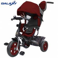 Galaxy Детский велосипед Лучик VIVAT бордовый