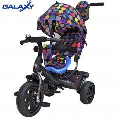 Galaxy Детский велосипед Лучик VIVAT 3-хколесный Дизайн круги