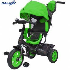 Galaxy Детский велосипед Лучик VIVAT зеленый