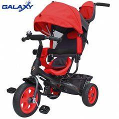 Galaxy Детский велосипед Лучик VIVAT красный