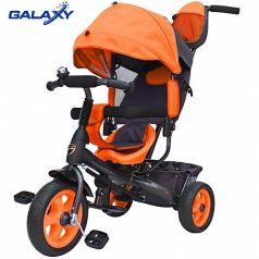 Galaxy Детский велосипед Лучик VIVAT (оранжевый)