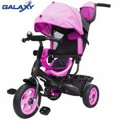 Galaxy Детский велосипед Лучик VIVAT (розовый)