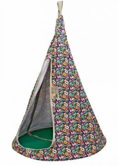 Mouse House Подвесной гамак качели Буквы разноцветные диаметр 80 см
