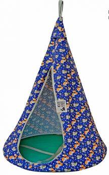 Mouse House Подвесной гамак качели Лисички диаметр 80 см