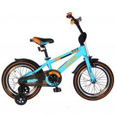"""Velolider Велосипед 2-х колесный 16"""" RUSH SPORT бирюзовый"""