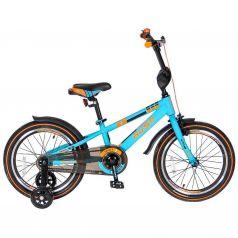 """Velolider Велосипед 2-х колесный 18"""" RUSH SPORT бирюзовый"""