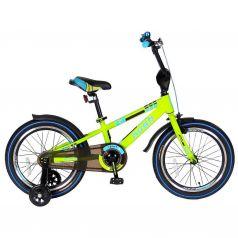 "Velolider Велосипед 2-х колесный 18"" RUSH SPORT зеленый"