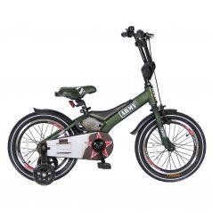"Velolider Велосипед 2-х колесный 16"" RUSH ARMY хаки"