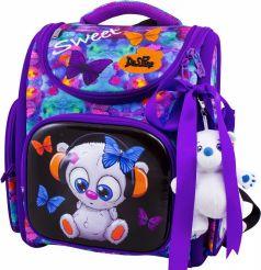 DeLune Ранец школьный с мешком и игрушкой