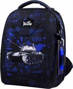 DeLune Ранец школьный 7mini-008 (темно-синий)