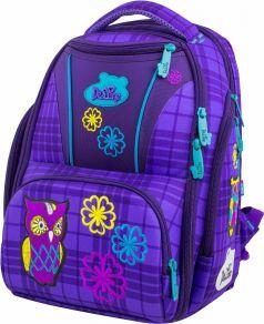 DeLune Ранец школьный 8-108 с мешком для обуви (фиолетовый)