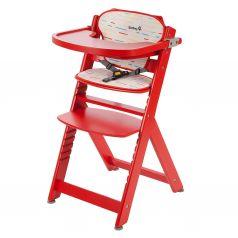 Safety 1st Стульчик для кормления Timba with Tray and Cushion Red Lines (красный)