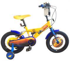 1Toy Детский велосипед Disney Тачки желтый 18 диаметр желтый