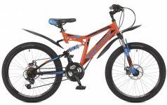 Stinger Велосипед 24 Highlander 100D 14 оранжевый