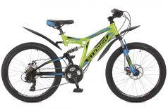 Stinger Детский велосипед 24 Highlander 200D 16,5 зеленый
