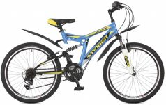 Stinger Велосипед 24 Highlander 100V 16,5 синий