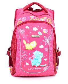 PULSAR Рюкзак школьный 4-P4 розовый