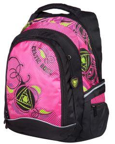 Steiner Школьный рюкзак 6-ST3 розово-черный