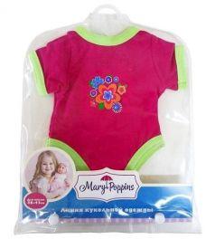 Mary Poppins Одежда для куклы Боди Цветочек