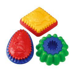 Spielstabil Игрушки для песочницы Формочка двуцветная с рисунком в ассортименте
