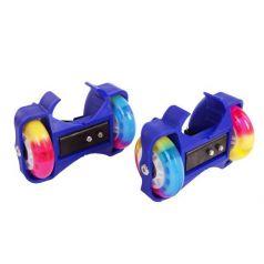 Moby Kids Роликовые коньки двухколесные (синие)