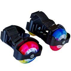 Moby Kids Роликовые коньки двухколесные (черные)