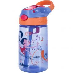 Contigo Бутылка для воды Gizmo Flip 0,42 литра фиолетовая
