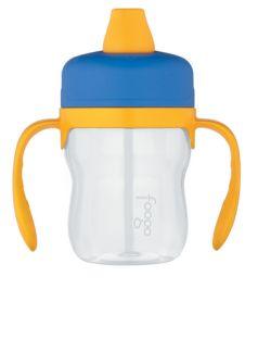 Thermos Поильник Foogo Phases №1 с ручками 0,23 литра голубой