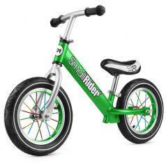 Small Rider Беговел для детей от 2 лет Foot Racer Air (зеленый)