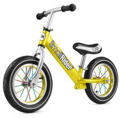 Small Rider Беговел для детей от 2 лет Foot Racer Air (золотой)