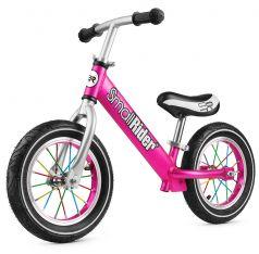 Small Rider Беговел для детей от 2 лет Foot Racer Air (розовый)