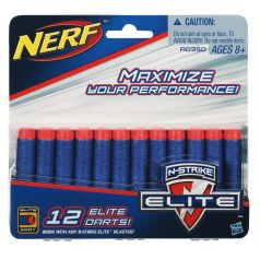 Hasbro Стрелы для бластера Nerf Элит 12 Стрел