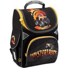 GoPack Ранец школьный Monstertruck (черный)