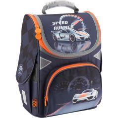 GoPack Ранец школьный Speed Runner (серый)