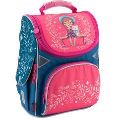 GoPack Ранец школьный (розово-синий)