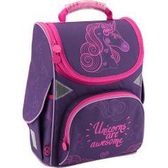 GoPack Ранец школьный Unicorns (фиолетовый)