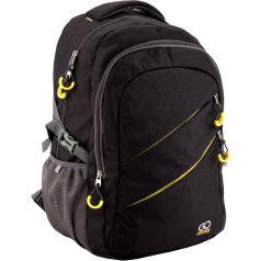 GoPack Рюкзак GO-1 (черный с желтым)