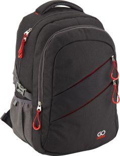 GoPack Рюкзак GO-2 (черный с красным)